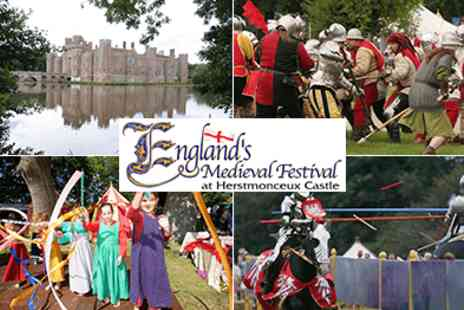 Malcolm Group Events - August Bank Holiday Fun at Englands Medieval Festiva - Save 50%