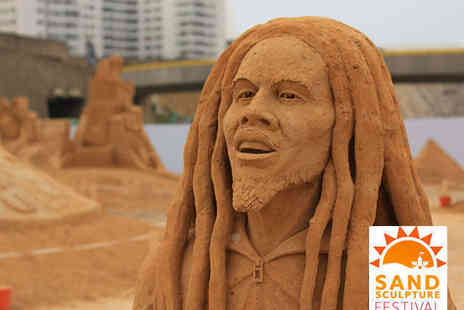 Brighton Sand Sculpture Festival - Two Adult Tickets  to Brighton Sand Sculpture Festival - Save 50%