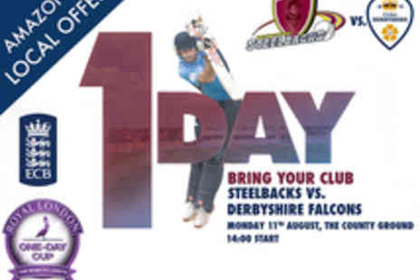 Northants Cricket - Tickets to Northants Steelbacks v Derbyshire Falcons Cricket Match - Save 32%