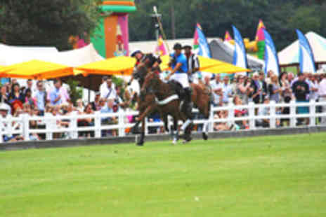 Royal County of Berkshire Polo Club - Entry to The Polo Festival with Apres Polo Party Option and Parking - Save 33%