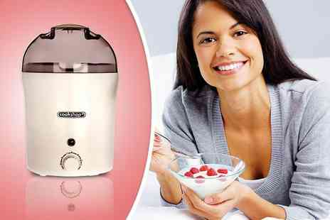 Cost Mad - Cookshop electronic yoghurt maker - Save 59%