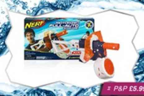 Silver Fishes - Single Nerf full auto Lightining Storm Supa Soaker - Save 37%