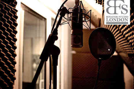 Bonafide Studio - Two Hour Studio Recording Session - Save 58%