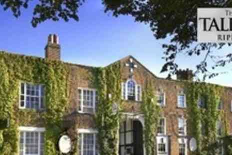 The Talbot - One Night Stay For Two With Breakfast and Prosecco - Save 53%