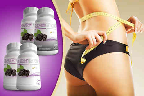 GB Supplement - Four month supply* of blackberry ketone supplements - Save 79%
