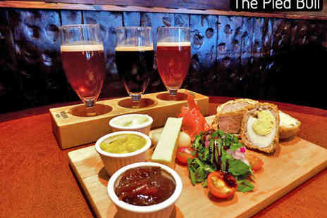The Pied Bull - Brewery Tour with Beer Tapas Platter for One - Save 53%