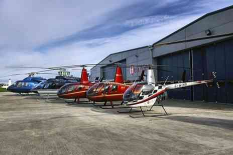 Heli Air Wellesbourne - Helicopter Pleasure Flight Over Stratford Upon Avon - Save 66%