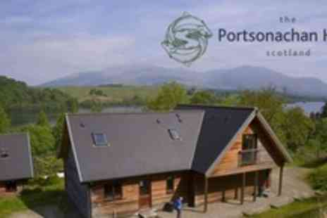 The Portsonachan Hotel - Three Night Stay in Self Catering Lodge For Up to Four - Save 58%