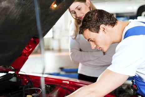 Triumph Road Tyres - Car Air Con Service With Re-Gas Plus 54 Point Inspection  - Save 72%