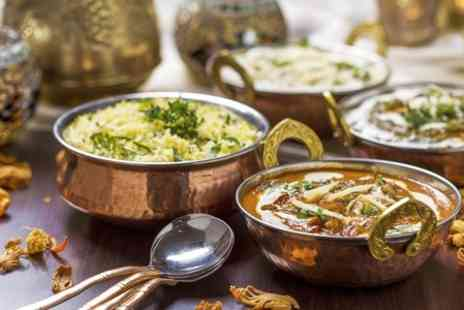 The Curry Place - Three Course Indian Meal With Sides For Two - Save 65%