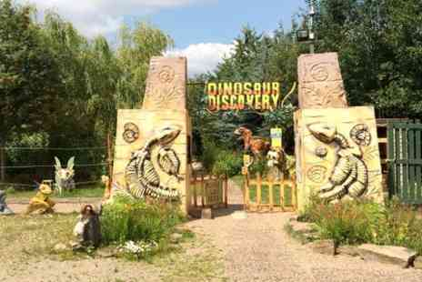 Dinosaur Discovery - Entry to Dinosaur Discovery Park For Two - Save 44%