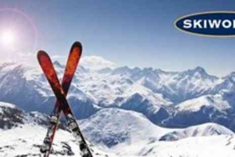 Skiworld - Seven Night Stay For Two With Flights, Transfers, Chalet Board and Wine Plus Ski Escorting and Rep - Save 56%