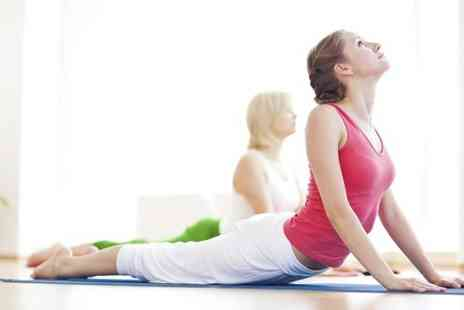 The Yoga Pilates Place - Five Hot Yoga Classes - Save 78%