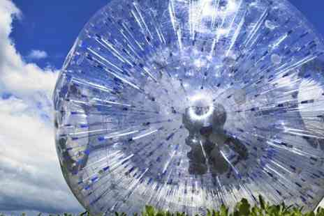 GO Zorbing -  Hydro or Harness Ride For Two With T-Shirts and Photo - Save 57%