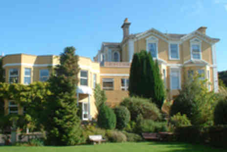 Richardson Hotel Group - One Night Torquay Stay For Two with Dinner - Save 42%