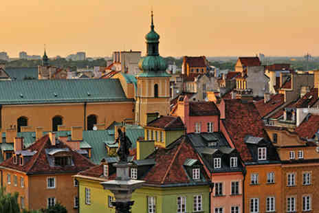 airbridgetravel - Two Nights 3 star Break in Warsaw with Flights Included - Save 36%