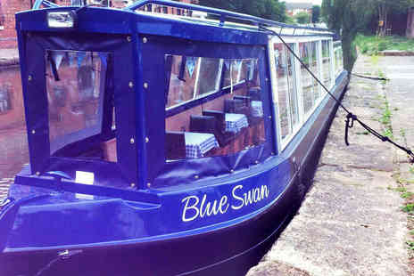 Burscough Boat Hire - 90 Minute Boat Cruise with Afternoon Tea Hamper for One - Save 64%