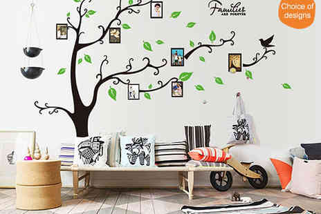 Decorate Your Walls - Decorative Wall Decal in Choice of Design - Save 69%