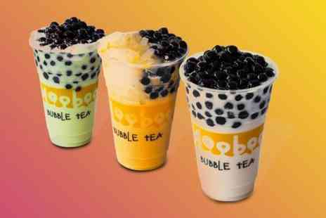 mooboo - Two Bubble Teas  - Save 50%
