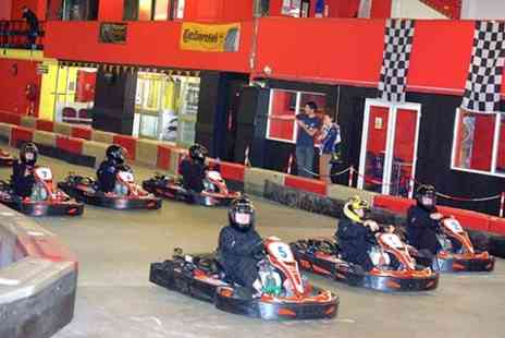 Gridline Racing Indoor Karting - One Hour Kids Racing Driver Experience - Save 50%