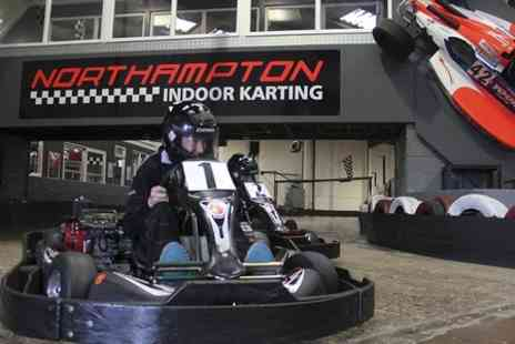 Northampton Indoor Karting - 70 Laps Indoor Karting Plus Membership  - Save 65%