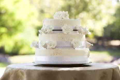 Hayley Janes Cakes - Three Tier Wedding Cake  - Save 52%