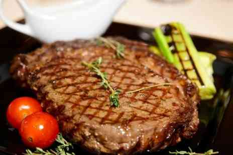 Joe Rigatonis - Rib Eye Steak Meal For Two  - Save 50%