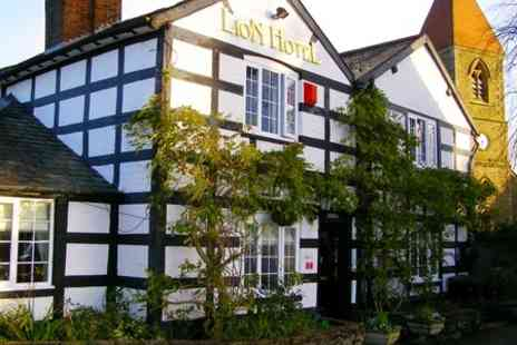 The Lion Hotel - One Night Stay For Two With Wine - Save 53%