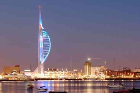 Spinnaker Tower -  Entry Plus Photo and Drink  - Save 53%