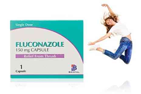 Chemist 4 U - Three Packs of Fluconazole Capsules -  Save 92%