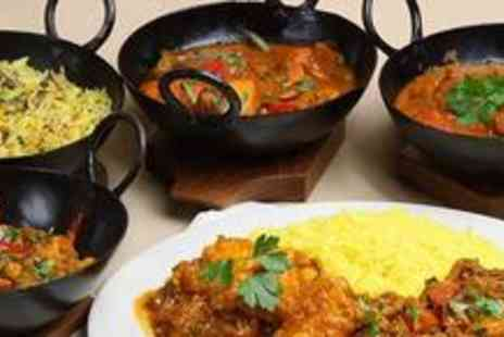 7 Spices - Two course Indian meal with sides and drinks for two - Save 63%