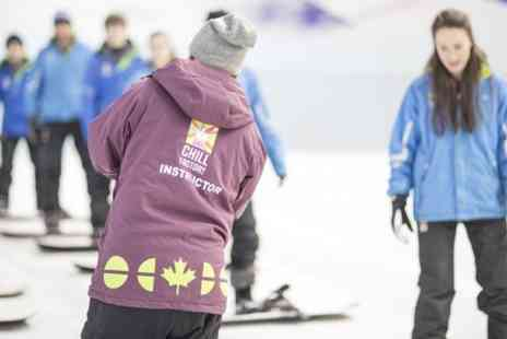 Chill Factore - Skiing or Snowboarding Taster Session For One  - Save 53%