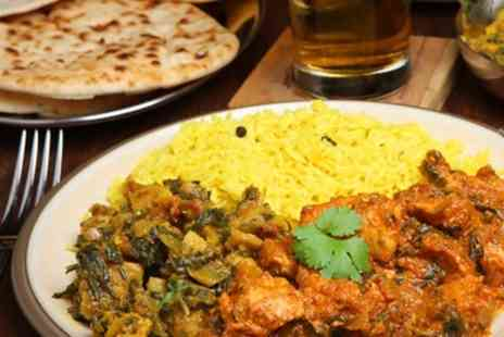 Roopsha - Two Course Indian Meal With Sides For Two  - Save 50%