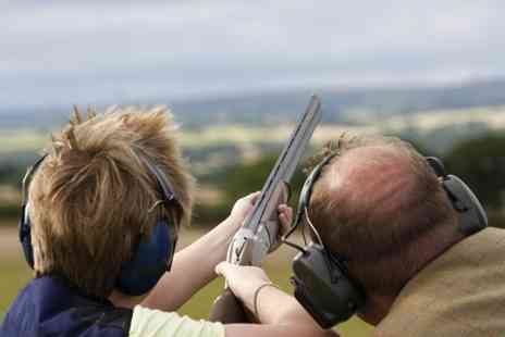 Treetops - Clay Pigeon Shooting With One Year Membership For One  - Save 71%