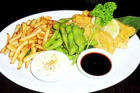 Sakura - Japanese Fish and Chips For Two - Save 47%