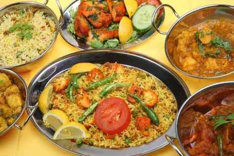 Bombay Spice - Two Course Indian Meal For Two  - Save 55%
