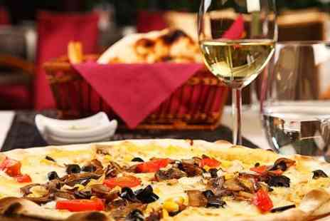 Volti Noti - Italian Pizza or Pasta For Two  - Save 52%