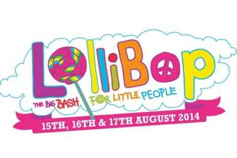 Live Nation - LolliBop Entry  - Save 50%