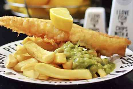 Youngs Fish & Chips - Cod, Chips and Mushy Peas For Two  - Save 51%