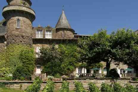 chateau castel novel - One night Stay in a 4 star French Chateau hotel with breakfast  - Save 55%