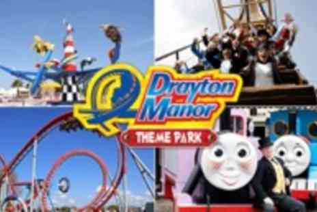 Drayton Manor -  Great Day Out for all the Family  - Save 50%