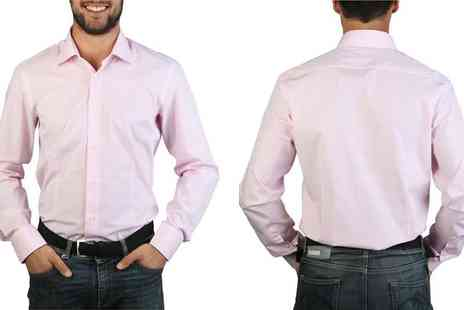 Intriangle Solutions - Rosso Fiorentino Mens Shirt with Choice of Colours and Size - Save 72%