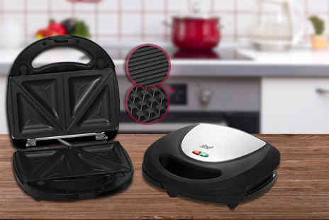 Designer Habitat - 3 in 1 sandwich toaster, grill and waffle iron - Save 50%