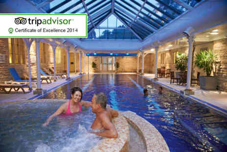 The Spa at Thoresby Hall - Spa day for 2 including a 3 course Champagne breakfast and 2 course lunch - Save 42%