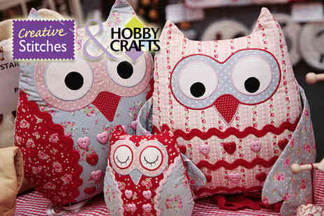ICHF Events - Ticket to the Stitching Sewing & Hobbycrafts show  - Save 50%