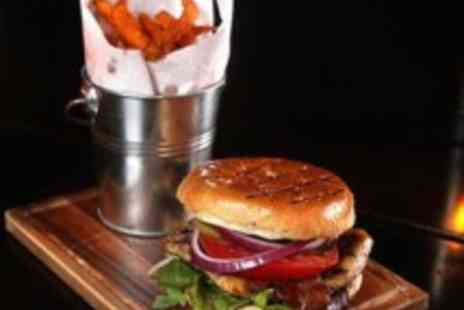 Sackville Lounge - Gourmet burger for 2 & a beer or a glass of wine each - Save 51%