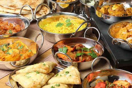 Heera - Indian Buffet with Wine for Two - Save 60%