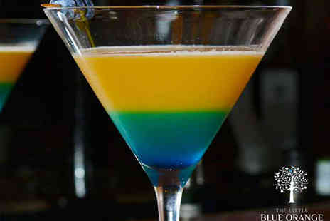 The Little Blue Orange - Two Cocktails with a Sharing Dish For Two - Save 50%