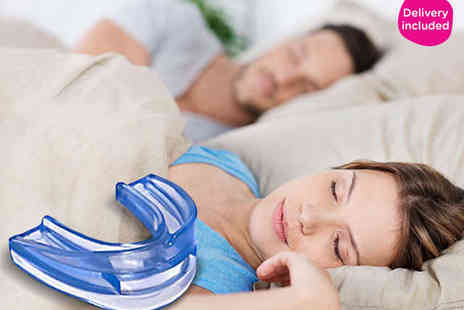 Enjoy A Peaceful Nights Sleep - One Anti Snore Guard - Save 67%