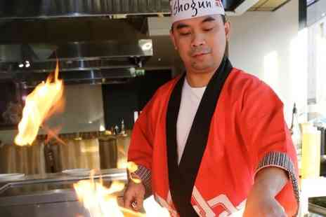 Shogun Sushi Noodle Bar - Two Course Teppanyaki Meal For Two  - Save 52%
